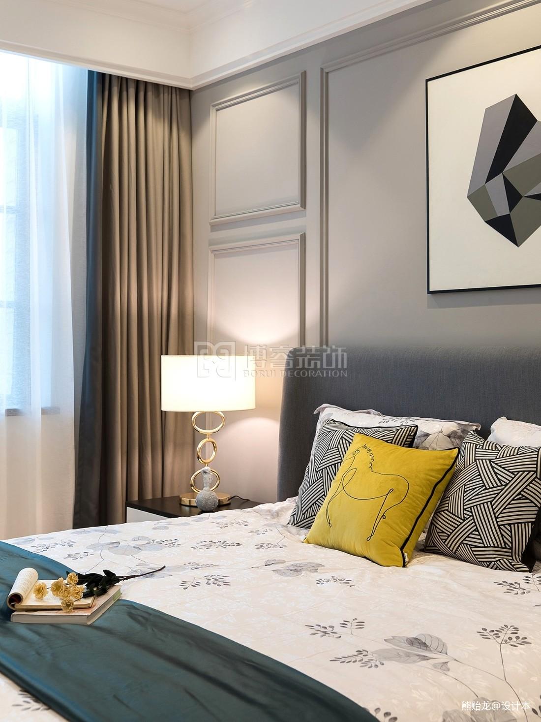 欧式台灯卧室床头灯图片