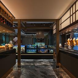名人名家餐饮店展台区设计