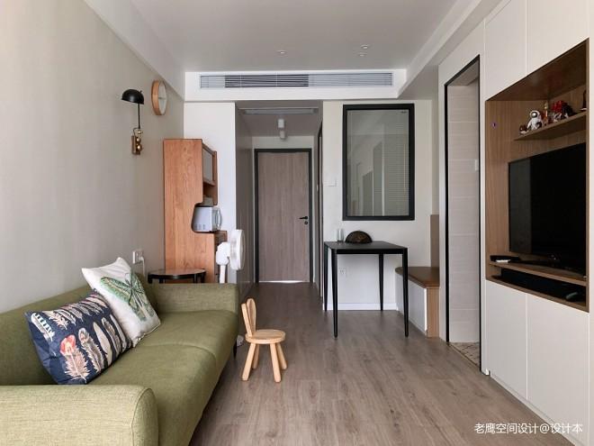 简单生活的54㎡现代风小公寓_160