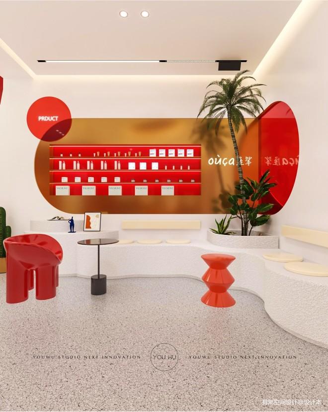 屋挲品牌形象店空间设计_160196