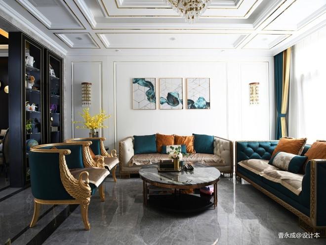 万科如园现代优雅新古典轻奢别墅设计实