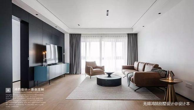 鸿鹄别墅设计  160m²现代极简大