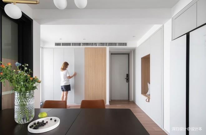 """收纳墙与三大""""空间折叠"""",倍感舒适的"""