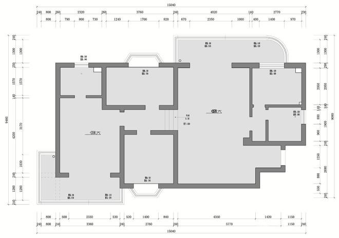 现代简约三居室原木风_4322052
