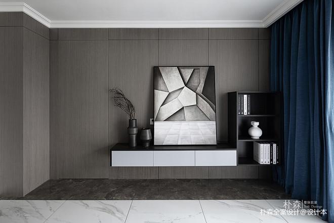 139m²精装美式改简约风颜值和收纳