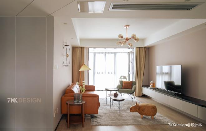82㎡打造质感、科技炫酷的北欧风之家