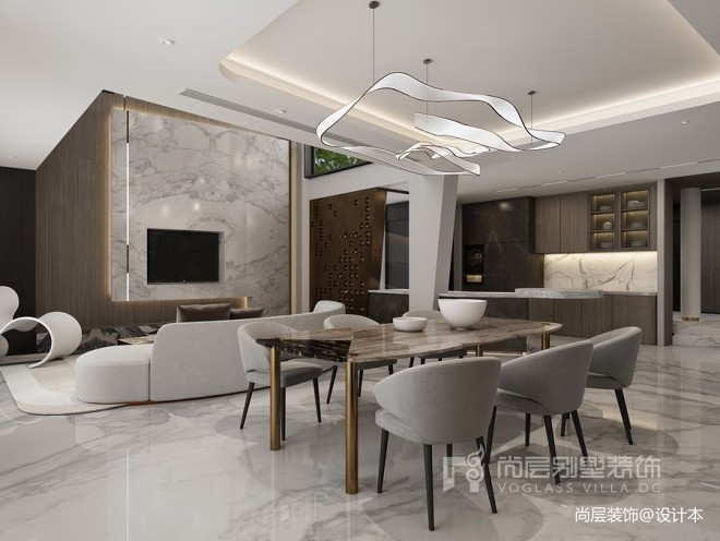 亚特兰蒂斯别墅空间设计 塑造,现代空