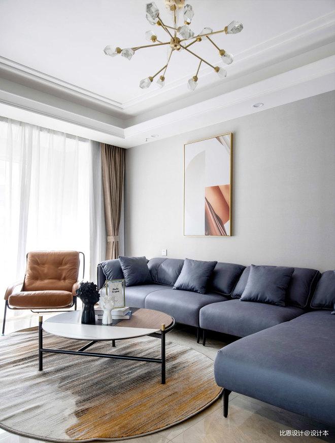 三居室—好看又实用的现代轻奢家!_1