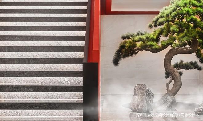森渡设计 | 北国饭店山水北国 意境