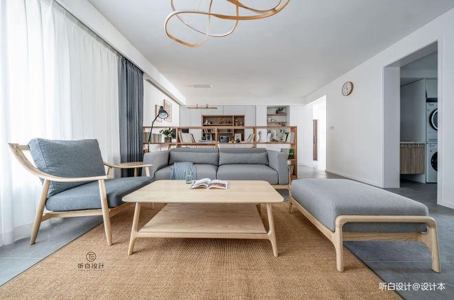 超大开放式厨房、客厅地台上升成为秘密