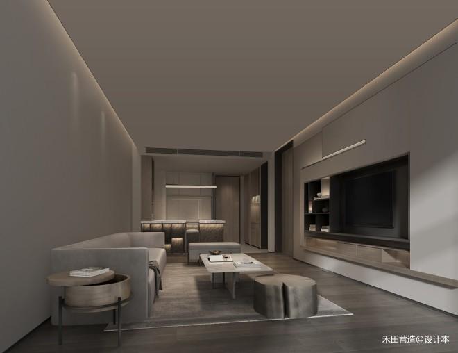 禾田营造作品 | 東岛集团公寓样板房