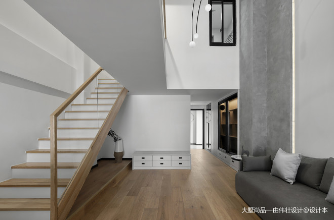 爆改90㎡复式公寓,老房华丽变身世外