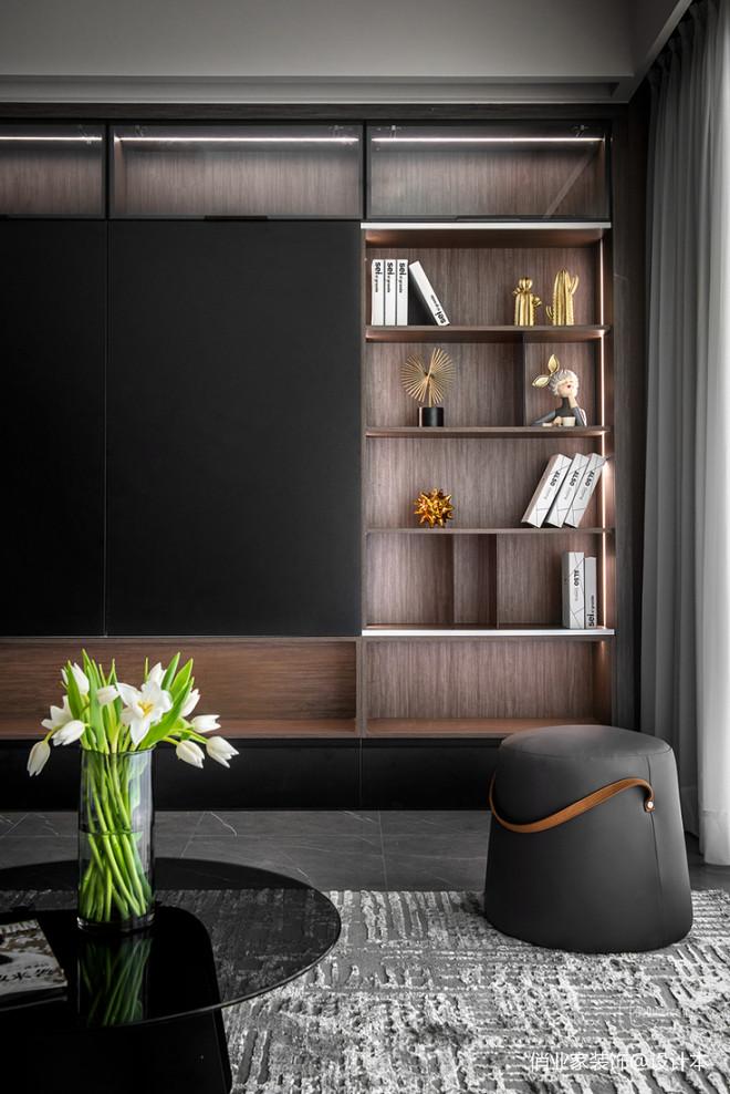 北大资源兰亭序四居室现代风格装修设计