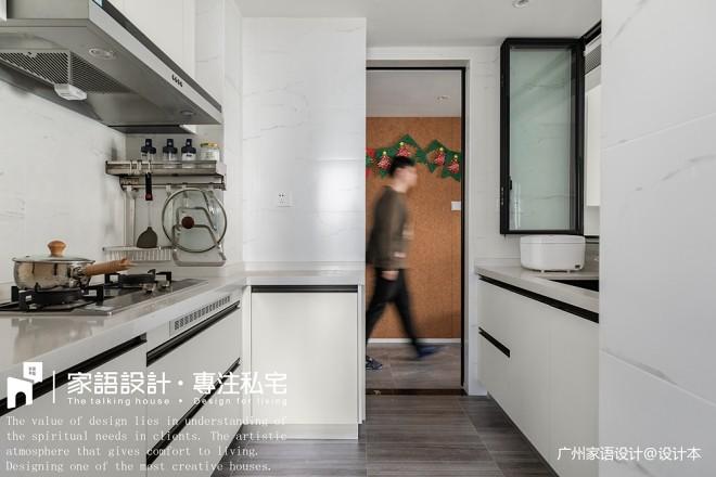 精装房改造,为了明亮通透的空间将墙面