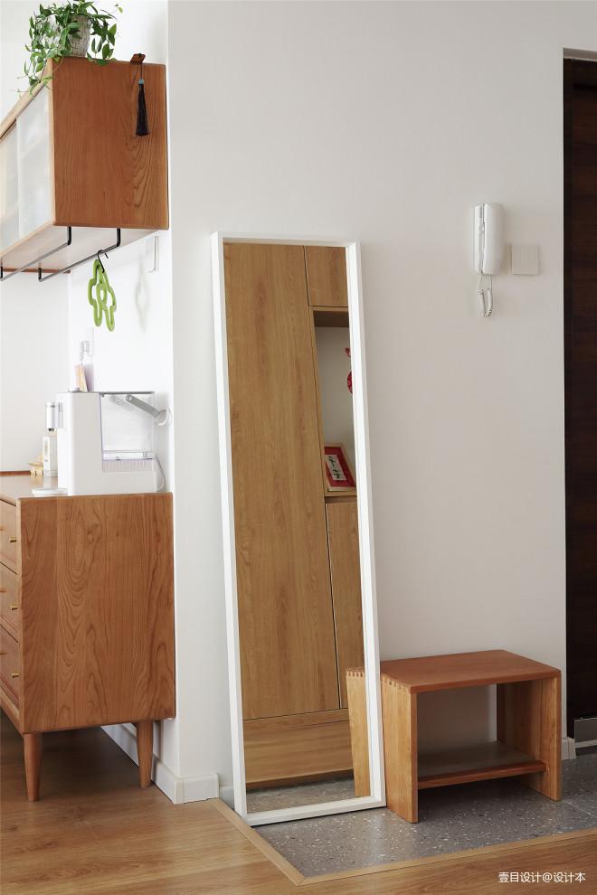 轻体积储物的现代日式小家,幸福满满~