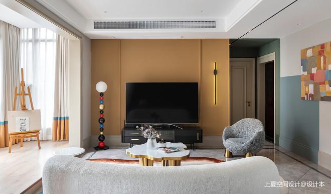 把色彩用到极致她的家是艺术大片_16