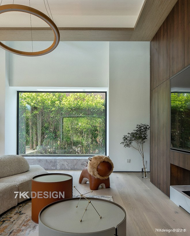 独栋别墅庭院下挖,奢阔空间,演绎理想