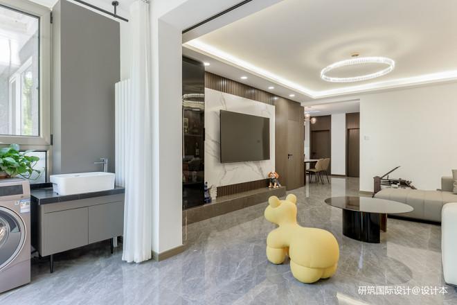 北京夫妻105㎡现代简约之家,时髦又