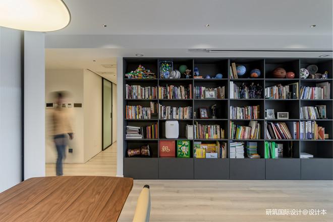 客厅图书馆+全屋超强收纳,惊呆无数网