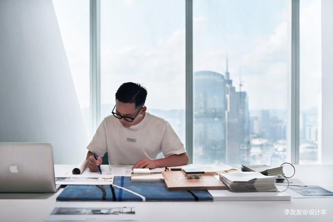 广州IFC办公室:自由开放,极简舒适