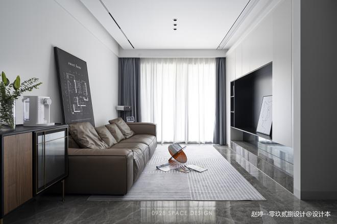 动线简化,89m²常规户型空间极致利