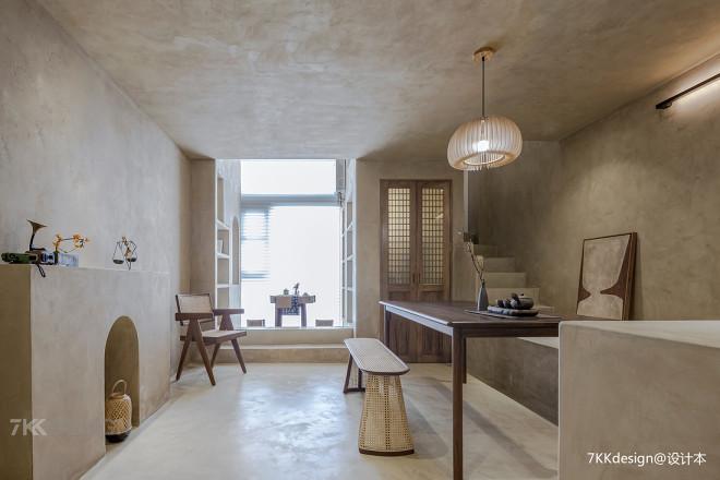 loft小公寓打造高级极简,禅意侘寂