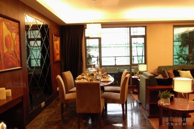欧式现代餐厅1208