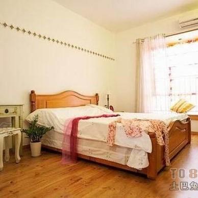 田园风格卧室装修效果图大全2012图片