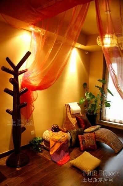 东南亚风格卧室9283