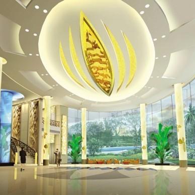 旅馆大堂设计图