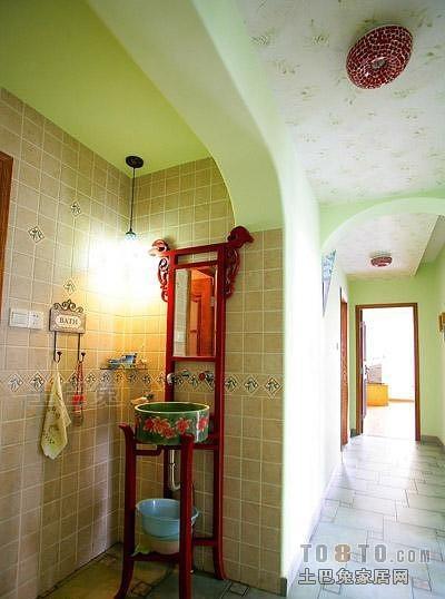 田园风格卫浴1648