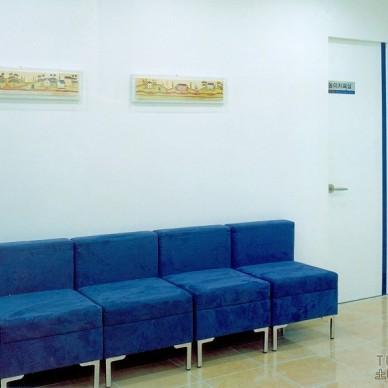 混搭风格医院等候椅效果图