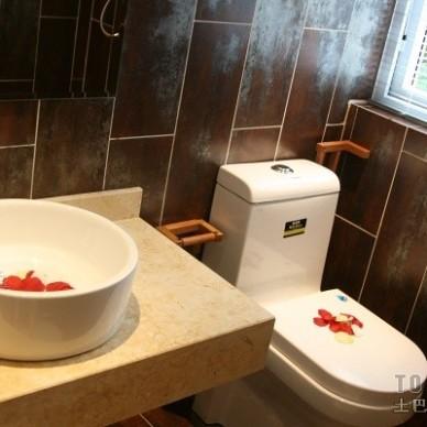 田园卫生间装修效果图大全2012图片