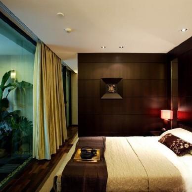 中式现代卧室4687