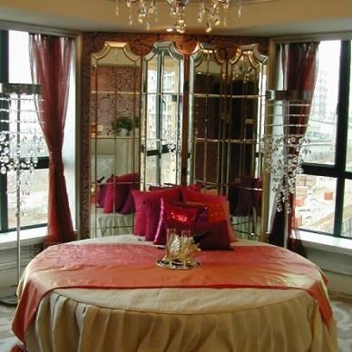 欧式现代卧室772