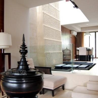 中式现代客厅2915