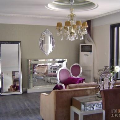 欧式现代客厅933