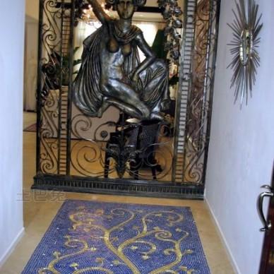 样板房玄关装修效果图大全2011图片