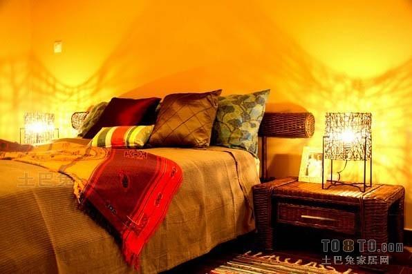 东南亚风格卧室9285