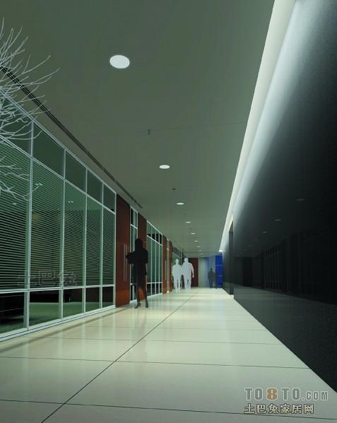人保北京分公司办公楼-走廊.jpg