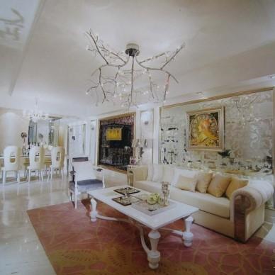 欧式现代客厅17062