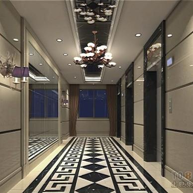 单身公寓电梯厅