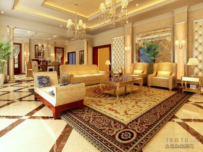 欧式现代客厅46843
