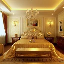 欧式现代卧室46845