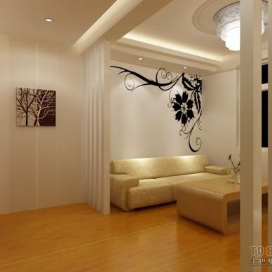 中式小客厅隔断装修效果图