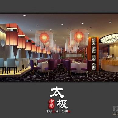 301F多功能餐厅全景角度