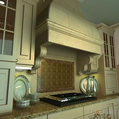新古典主义厨房86520