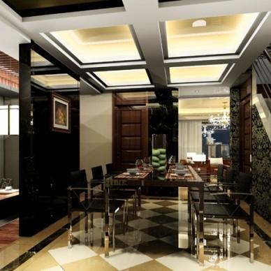 欧式现代餐厅134750