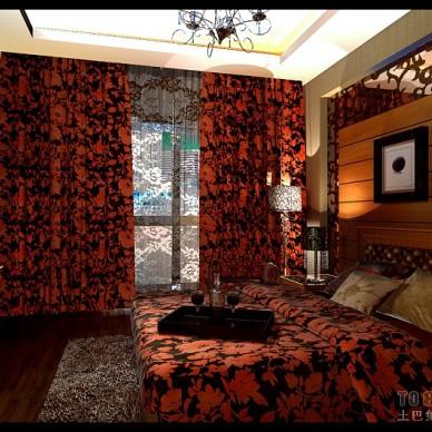 西荷花园卧室