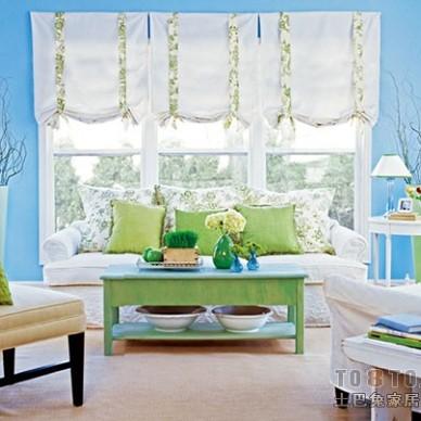客厅窗帘背景图片